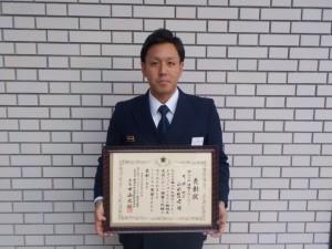 山田消防副士長